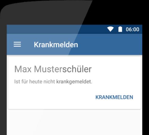 Krankmeldungen Per App Dieschulapp